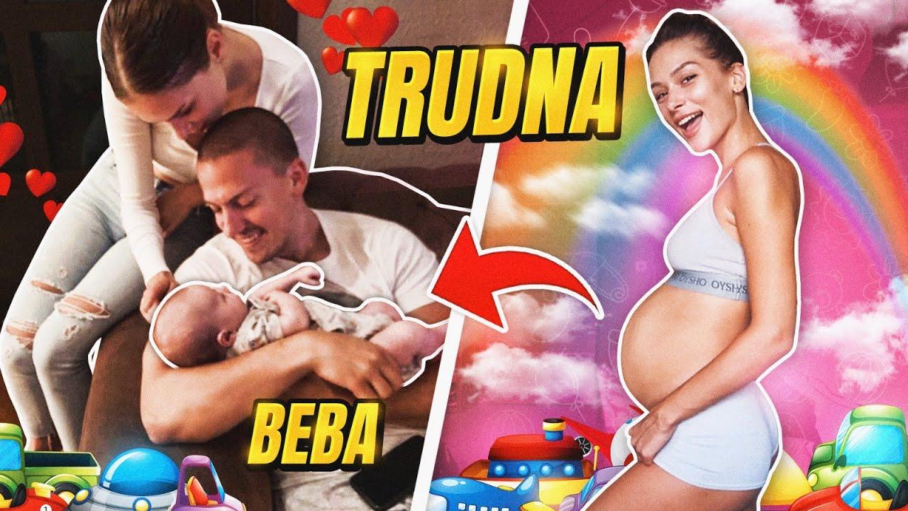 Download ANJA BLA JE TRUDNA - POSTAJEMO MAMA I TATA! *3 meseca*