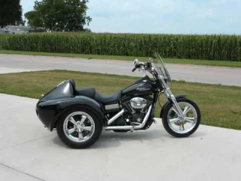Harley Davidson Street Bob Trike Conversion