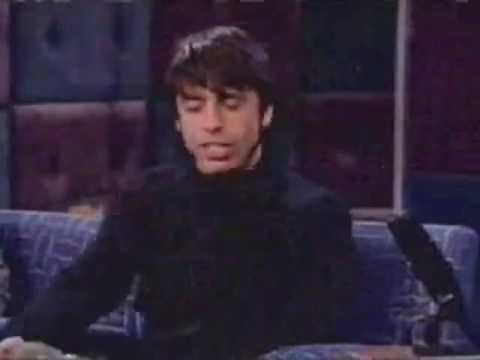 Dave Grohl on Late Night with Conan O'Brien (November 1999)