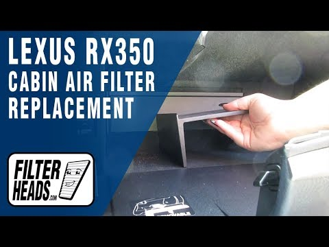 How to replace cabin air filter 2013 lexus rx 350 youtube for 2015 lexus rx 350 cabin air filter