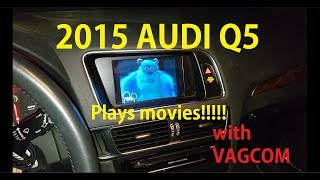 Audi MMI 3G has Videos & Movies enabled!!! (Varies from 2009 to 2017 A4, A5, A6 & Q5 models)