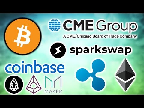 CME BITCOIN FUTURES SURGE - Sparkswap Lightning Network - Coinbase EOS Augur & Maker - Ripple XRapid