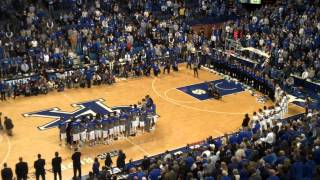 "Sundy Best - ""My Old Kentucky Home"" on Senior Day in Rupp Arena"