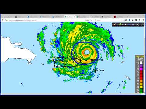 Hurricane Irma 5pm ET NHC Advisory Package Update