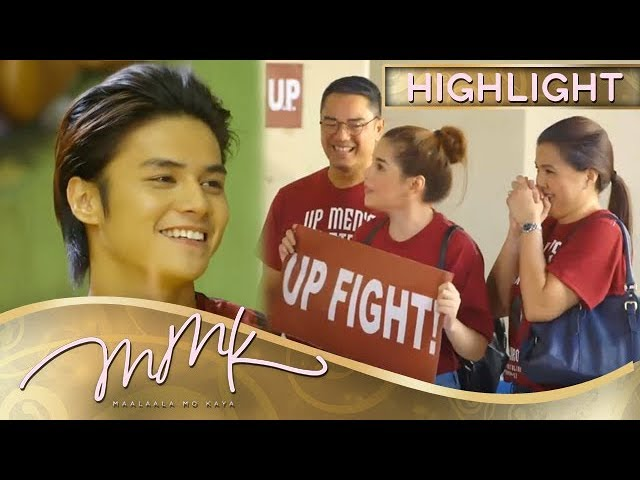MMK: Paul was overwhelmed by the support of his family and University
