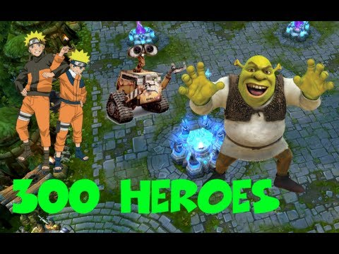 300 Heroes Fake Chinese League Of Legends Clone