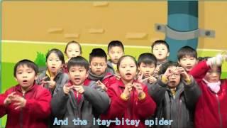 黃天校園電視台 - 英文科 (Itsy Bitsy Spider)