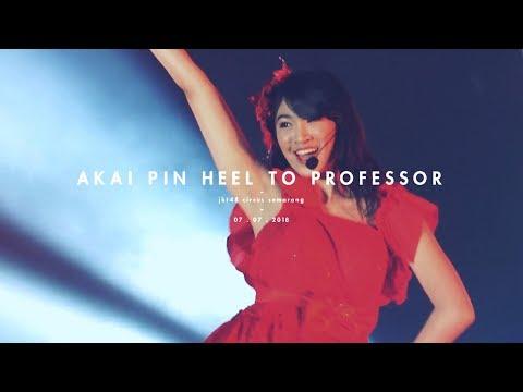 [Fancam] JKT48 Shani - Akai Pin Heel to Professor at JKT48 Circus Semarang