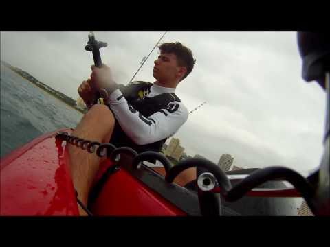 Extreme Kayak Tuna Fishing Umhlanga Durban