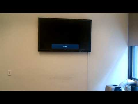 55 inch television installation Office Conference Room Union Square West Manhattan New York 3