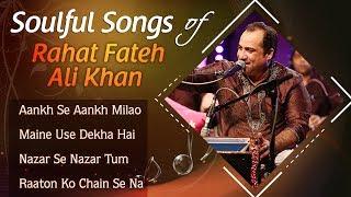 Soulful Songs Of Rahat Fateh Ali Khan - Heart Touching NEW Hindi Sad Songs 2017