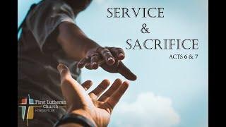 Livestream Service - First Lutheran Church Kingsville -  August 22 2021