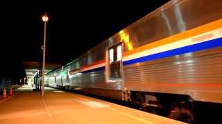 Amtrak Extra 520 with 8 New Viewliner II Baggage Cars