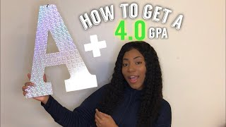 HOW TO GET A 4.0 GPA IN HIGHSCHOOL/COLLEGE📝(APs, Dual Enrollment, Study Habits)