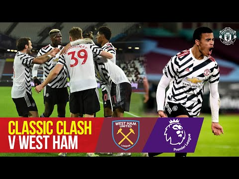 Classic Clash - West Ham (21/20) |  Pogba boosts United's comeback |  West Ham v Manchester United