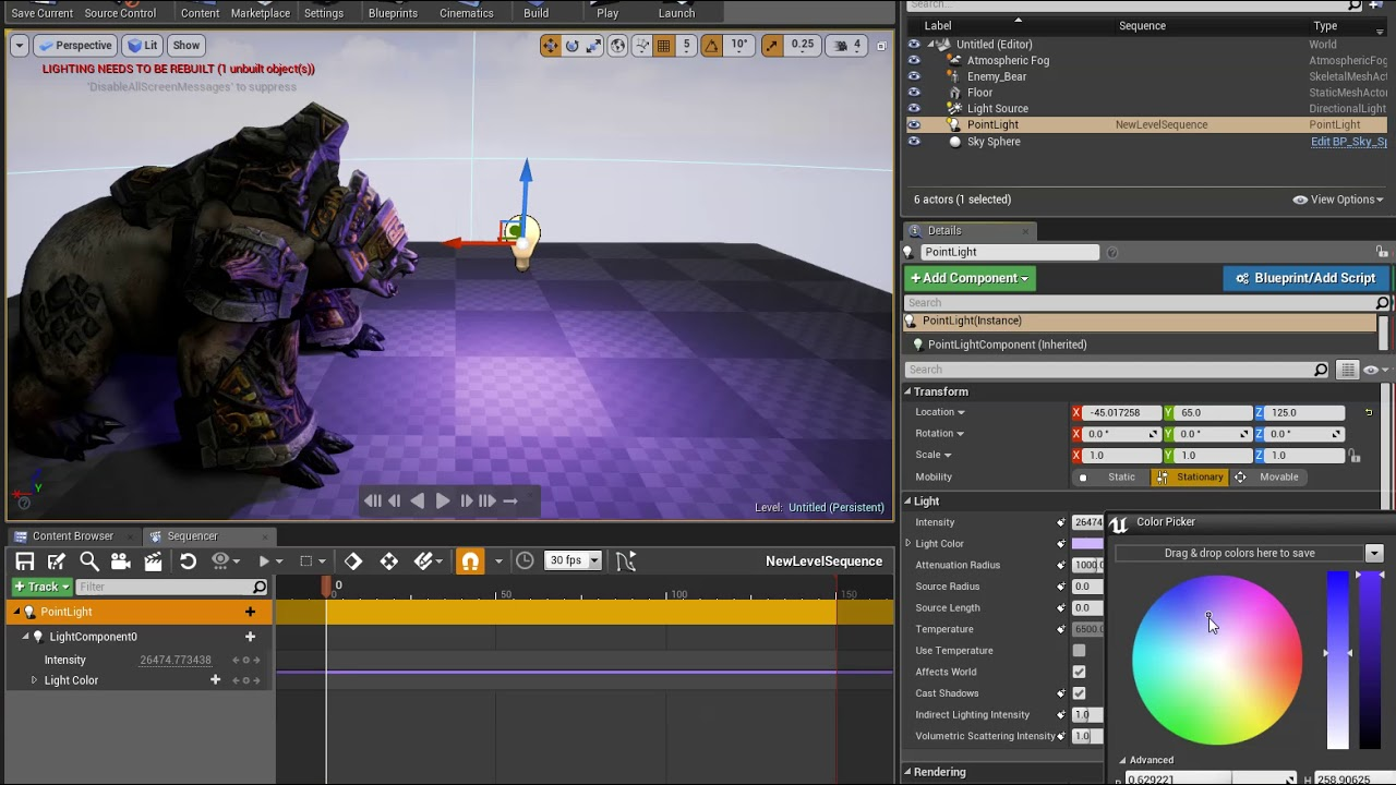 Sequencer Overview | Unreal Engine Documentation