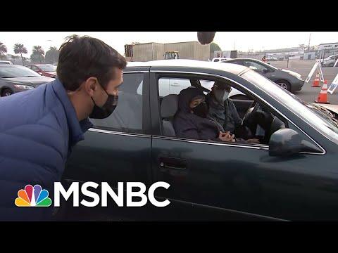 This is a long line of despair. | Gadi Schwartz | MSNBC