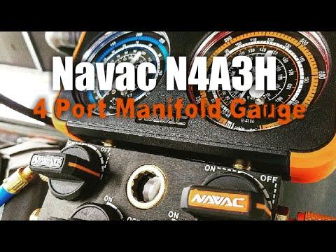 HVAC - Navac N4A3H Manifold Gauge Review