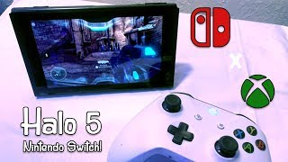 Playing Halo 5 on the Nintendo Switch! | Xcloud Preview
