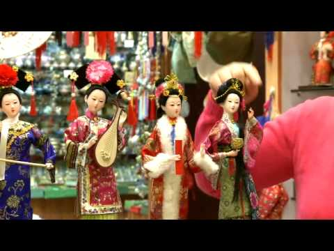 Beijing Shopping, An embroidery shop in Beijing, Qing Dynasty