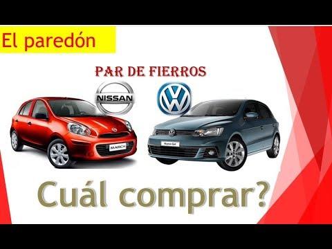 NISSAN MARCH ACTVE Vs VOLKSWAGEN GOL | Cómo Comprar Auto Nuevo | El Paredón.