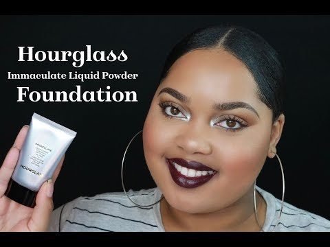 Hourglass Immaculate Liquid Powder Foundation | KelseeBrianaJai