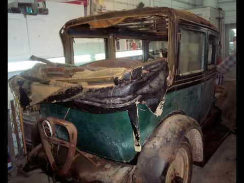 chevrolet 1929 restoration youtube. Black Bedroom Furniture Sets. Home Design Ideas