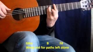 Roads Untraveled - Tutorial Guitarra - Linkin Park