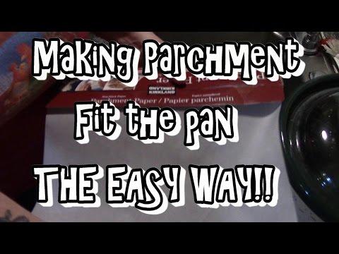 Parchment Paper Kitchen Tip!!