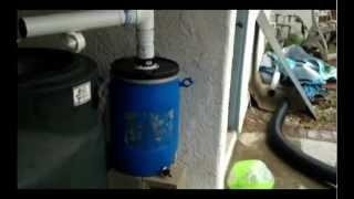 Backyard Rain Water Tanks And First Flush Filters