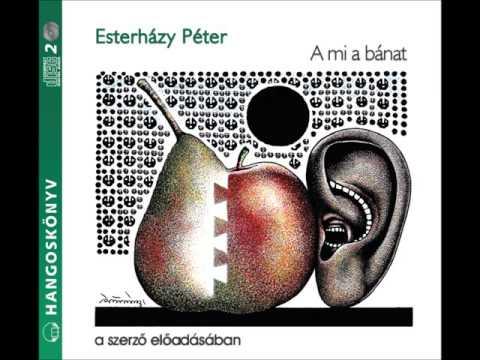 Esterházy Péter: A mi a bánat - hangoskönyv