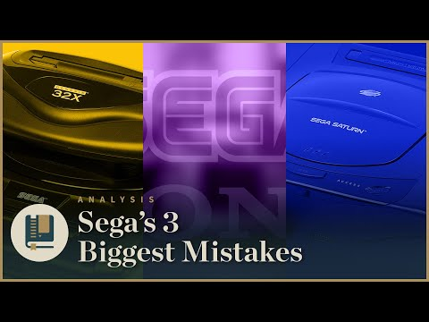 SEGA's 3 Biggest Mistakes | Gaming Historian