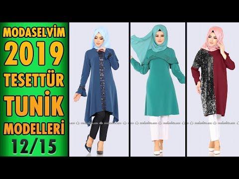 #Modaselvim 2019 Tesettür Tunik Modelleri 12/15 | #Hijab #Tunic | #tesettür #tunik