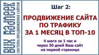 Шаг 2: Трафик на сайт. Продвижение сайта по трафику пошаговая инструкция Radneek(Продвижение сайта по трафику или трафик на сайт http://radneek.com/prodvijenie_sayta_v_internete/prodvijenie_po_trafiku/ В данном видео урок..., 2015-11-16T12:40:29.000Z)
