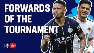 Amond, Jimenez, Jesus? Pick YOUR Forward of the Tournament   Emirates FA Cup 18/19
