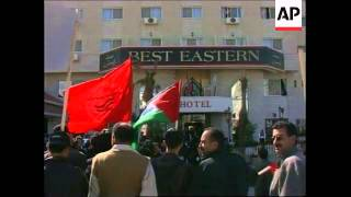 MIDDLE EAST: WEST BANK JEWISH SETTLEMENT TALKS