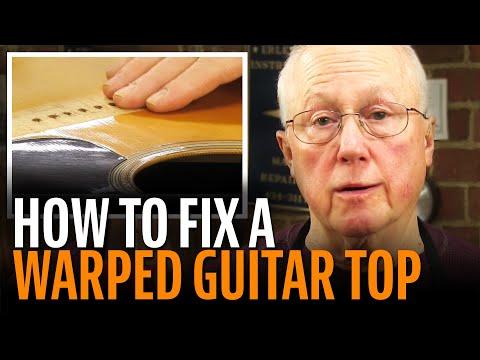 Problem: a WaRpEd guitar top!
