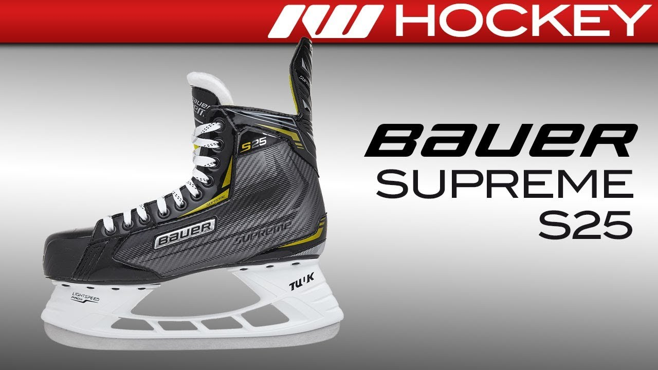 Bauer Supreme S25 Skate Review
