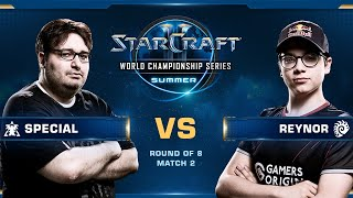 SpeCial vs Reynor TvZ – Quarterfinals – WCS Summer 2019