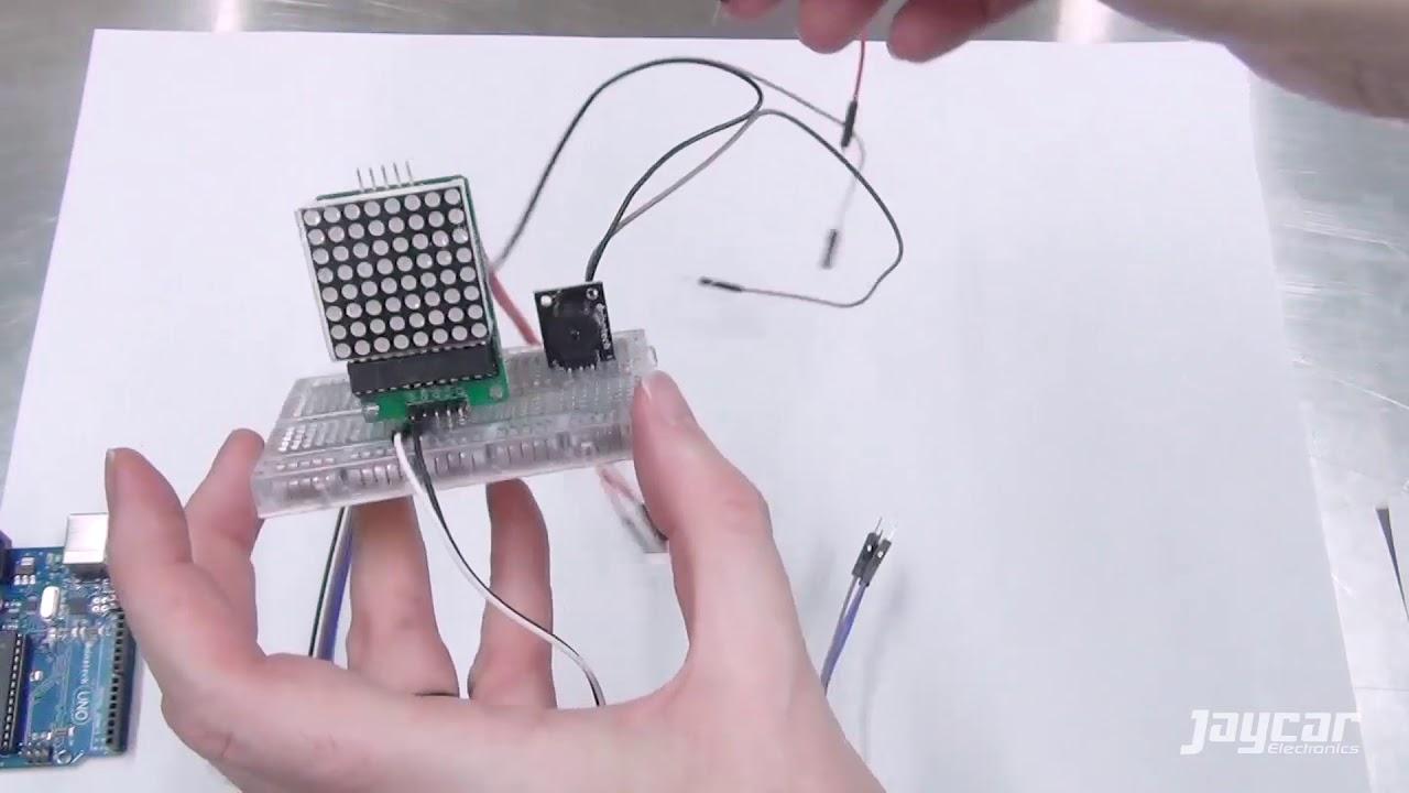 XC3900 Mini Project - Snake Game - Jaycar Electronics - YouTube
