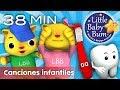Canciones infantiles 38 minutos de recopilación littlebabybum mp3