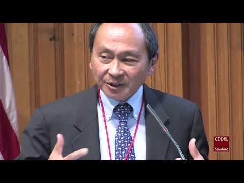 "Francis Fukuyama, a keynote at ""Disruption: Challenges of a New Era"" conference."