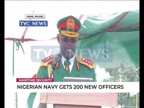 Nigerian Navy Gets 200 New Officers