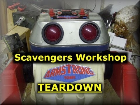 Scavengers Workshop - Tomy Armstrong robot teardown