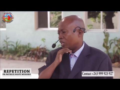 Témoignage incroyable  FRÈRE PATRICE NGOY MUSOKO   MON ÂME LOUE L'ÉTERNEL
