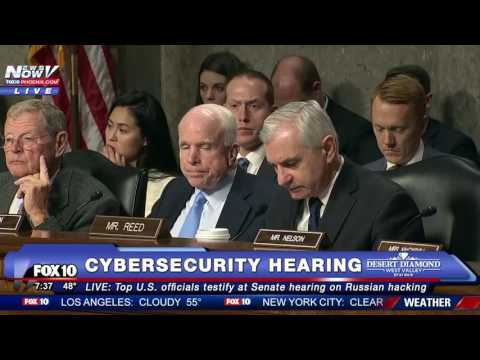 FULL VIDEO: Senate Hearing on Russian Hacking - Intelligence Officials TESTIFY (incl. DNI Clapper)