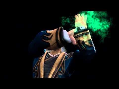 Mortal Kombat 9 Shang Tsung Fatality 1, 2, Stage And Babality (HD)