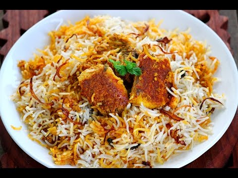 Boneless Fish Biryani - Very easy Hyderabadi Fish dum biryani recipe
