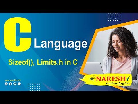 Sizeof(), Limits.h in C   C Language Tutorial