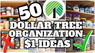 50 CLEVER DOLLAR STORE ORGANIZATION IDEAS TO ORGANIZE YOUR SPACE